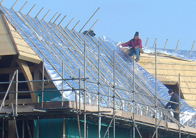 Over Rafter Insulation Multi Foil Can Be A Great Option