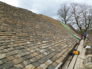Roofing in Cheltenham - Barn roof.