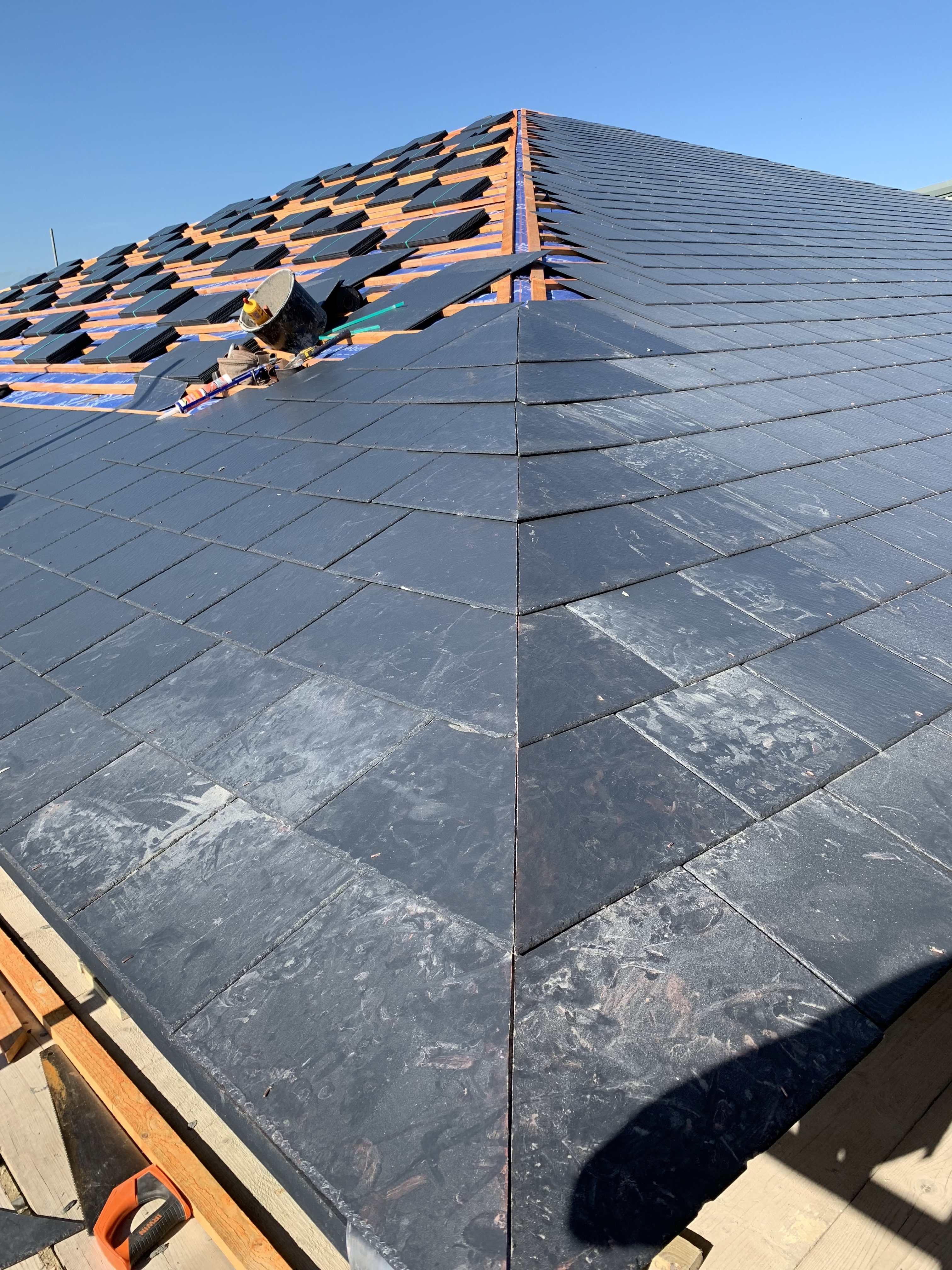 Slate Roof Hip Alternatives Sacklyn Roofing Gloucester