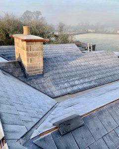 "alt=""bungalow slate roof restoration"""