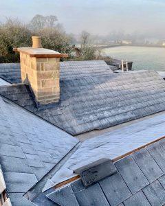 "alt=""bungalow slate roof restoration"""
